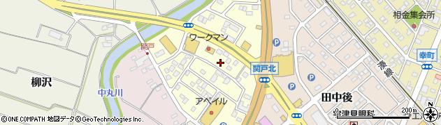 茨城県ひたちなか市峰後周辺の地図