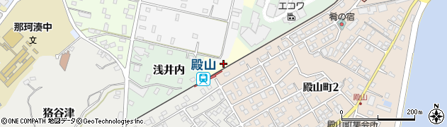 茨城県ひたちなか市ナメシ周辺の地図