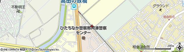 茨城県ひたちなか市西鶴子田周辺の地図