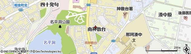 茨城県ひたちなか市南神敷台周辺の地図