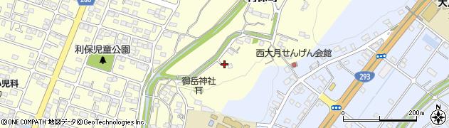 栃木県足利市利保町周辺の地図