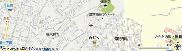 公文式酒門団地教室周辺の地図