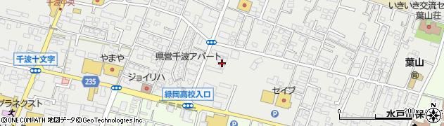 株式会社ニコン 千波寮周辺の地図