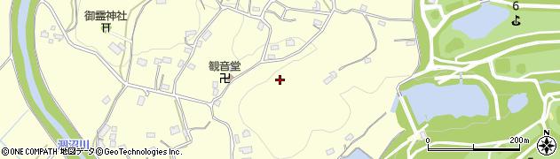 茨城県笠間市南吉原周辺の地図