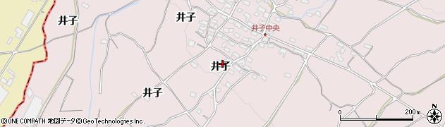 長野県小諸市滋野甲井子周辺の地図