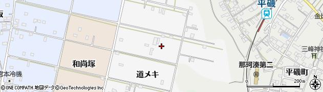茨城県ひたちなか市道メキ周辺の地図