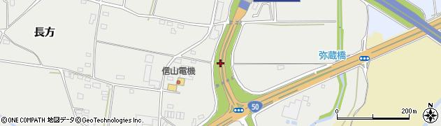 一般国道50号周辺の地図