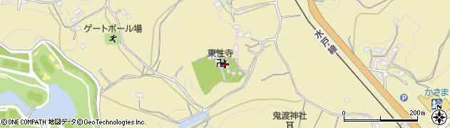 東性寺周辺の地図
