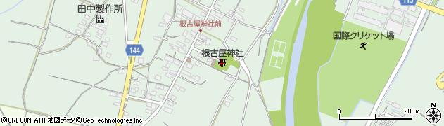 根古屋神社周辺の地図
