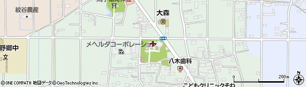 大森院周辺の地図
