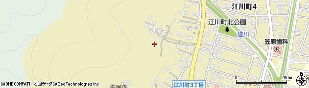 栃木県足利市江川町周辺の地図