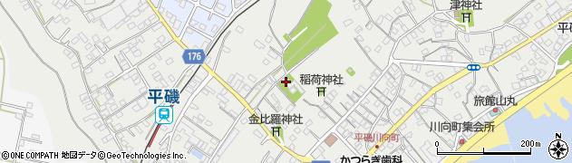 聴法寺周辺の地図