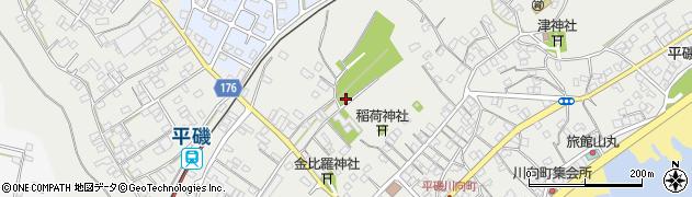 茨城県ひたちなか市平磯町周辺の地図