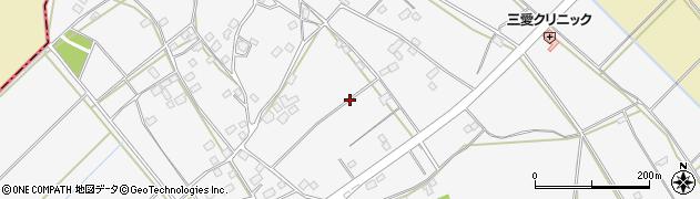 茨城県水戸市小林町周辺の地図