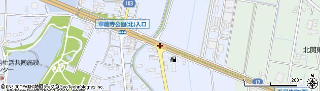 聖苑入口周辺の地図