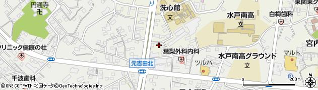 エハラ理容店 白梅店周辺の地図