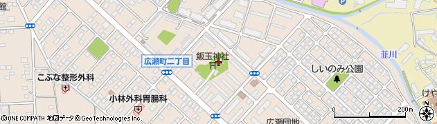 飯玉神社周辺の地図