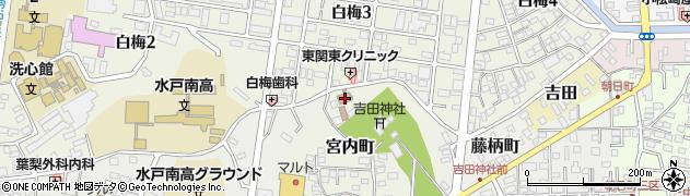茨城県土地改良政治連盟周辺の地図