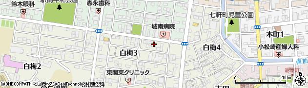 みすず薬局白梅店周辺の地図