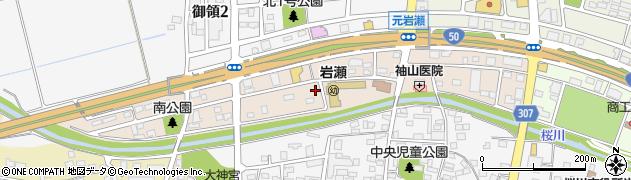 茨城県桜川市西桜川周辺の地図