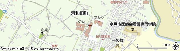 水戸市社会福祉協議会 河和田事務局周辺の地図
