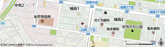 株式会社エイジス水戸ディストリクト周辺の地図