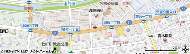 エッセン周辺の地図