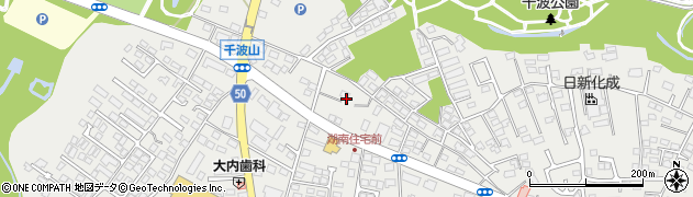 千波神社周辺の地図