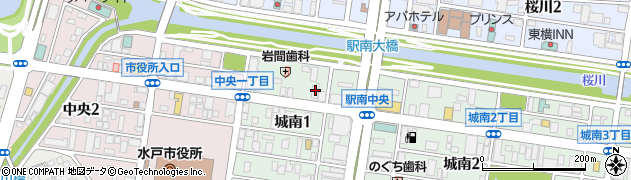 戸田建設株式会社 水戸営業所土木周辺の地図