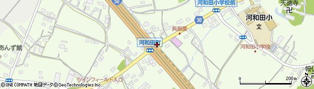 河和田町周辺の地図