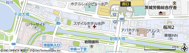 株式会社ノエビア水戸支店周辺の地図