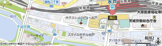 ウーマン・レイクビュー周辺の地図