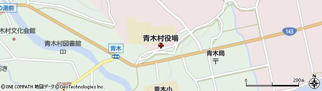 長野県小県郡青木村周辺の地図