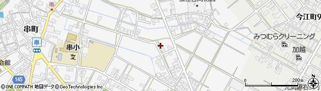 石川県小松市串町(己)周辺の地図