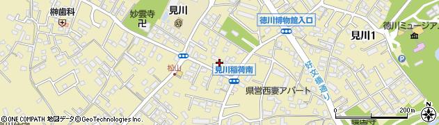 マツバラ理容所周辺の地図