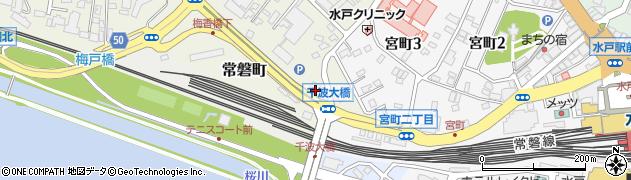 茨城県JA会館 茨城県農協健康保険組合周辺の地図