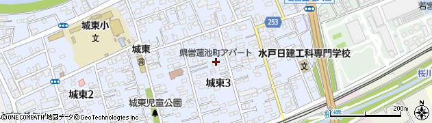蓮池町アパート周辺の地図