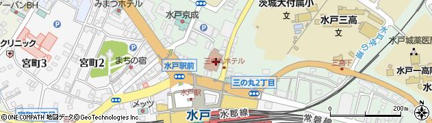 茨城県国家公務員労働組合連合会周辺の地図