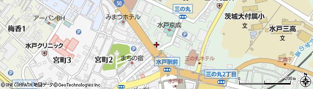 美容室パリ周辺の地図