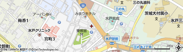 近畿日本ツーリスト株式会社 水戸支店団体旅行周辺の地図