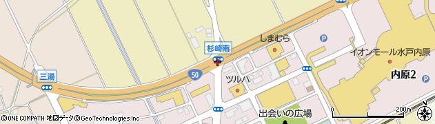 杉崎南周辺の地図