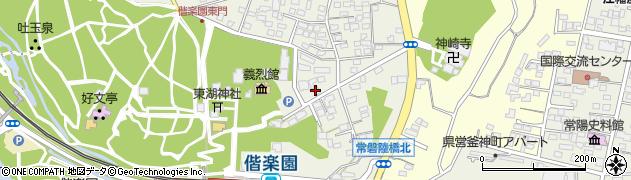 清水風呂設備周辺の地図