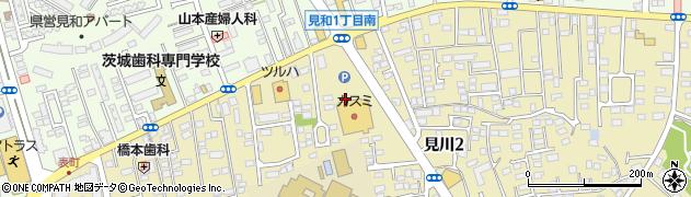 リトルマーメイド 水戸・見川店周辺の地図