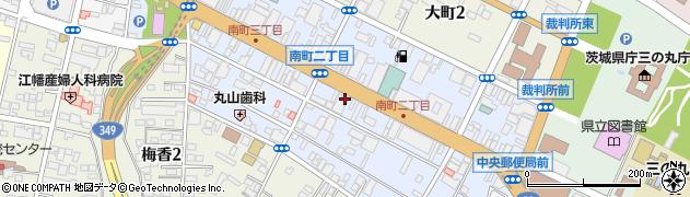 クロサワ眼鏡店本部周辺の地図