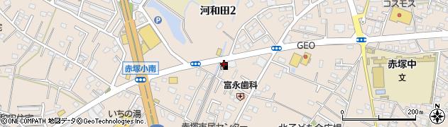 株式会社茨城ゼネラル石油 赤塚駅南給油所周辺の地図