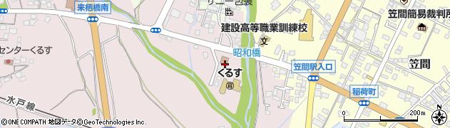 関東森林管理局森林技術センター周辺の地図