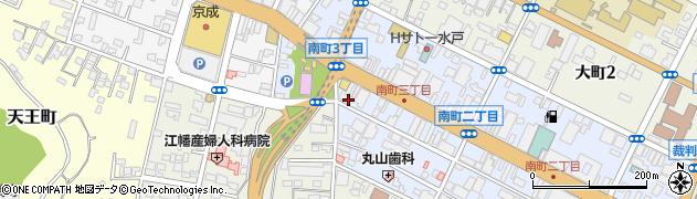 キャラット66周辺の地図