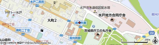 朝日生命労働組合茨城支部周辺の地図