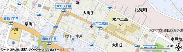 水戸翔合同法律事務所周辺の地図
