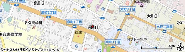富士通株式会社 茨城支店周辺の地図